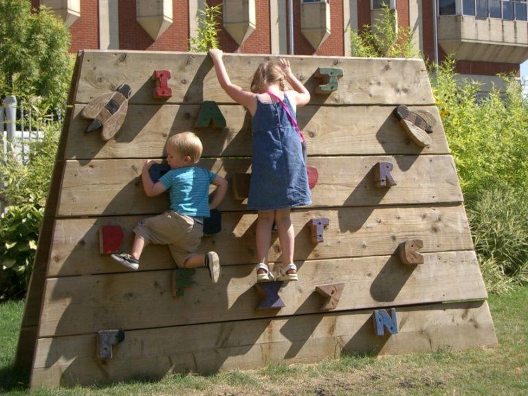 Скалодромы для детей своими руками