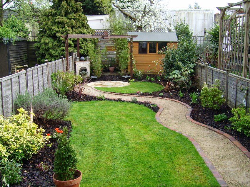 Дизайн садового участка 2 сотки своими руками фото 43