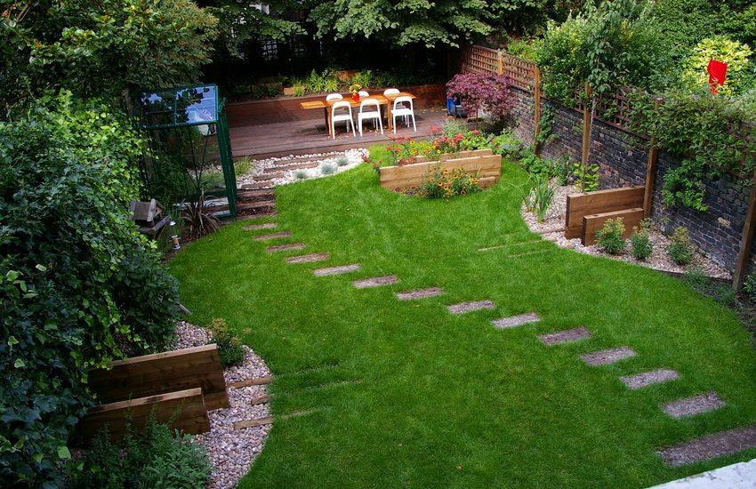 Обустройство садовых участков своими руками фото 26