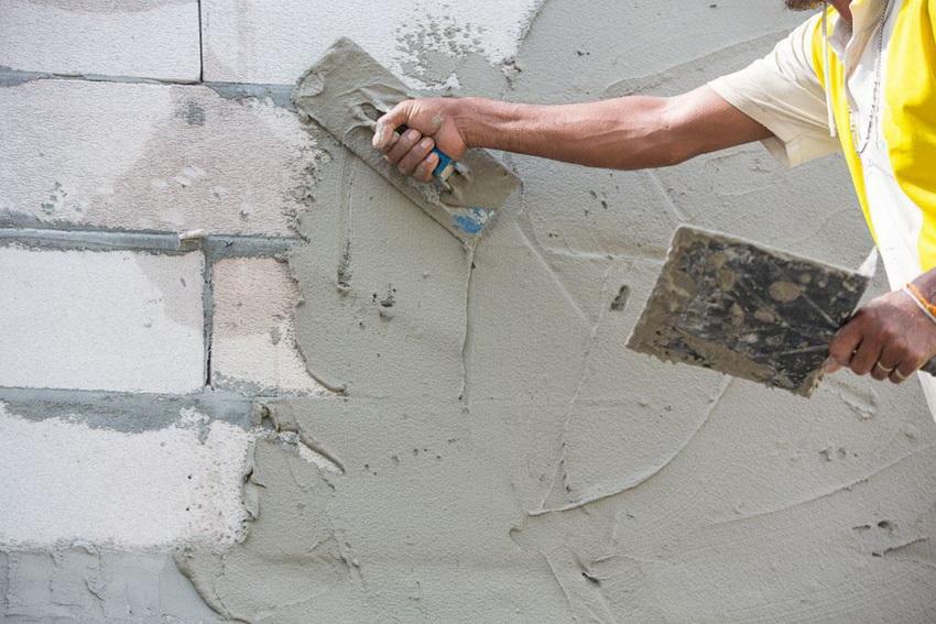 Шпаклевать фасад дома своими руками 93