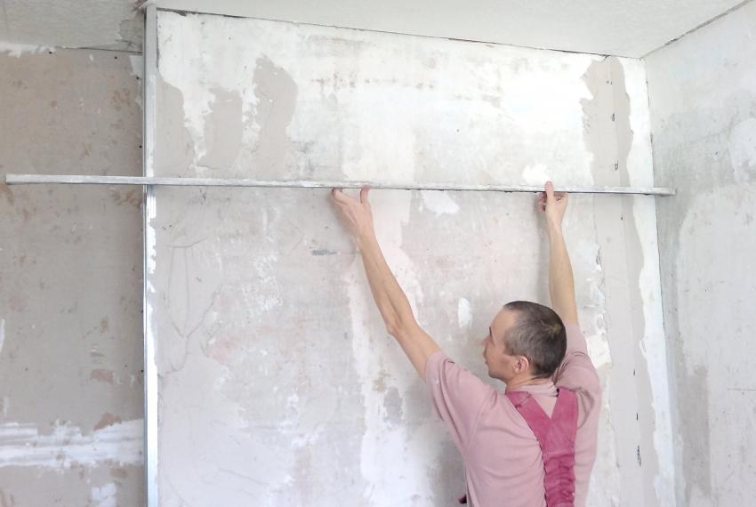 Как сделать внутренние углы на стенах 918
