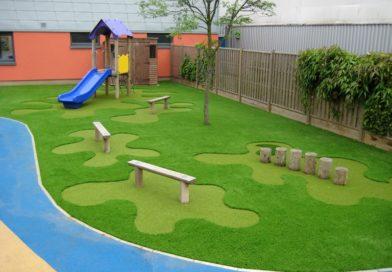 Искусственный газон: фото, укладка, рекомендации