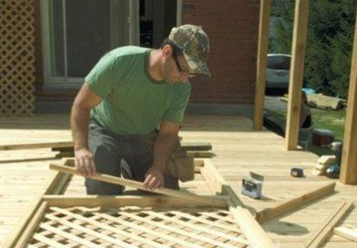 Деревянная решетка: как сделать своими руками