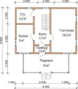 dom-iz-brusa-svoimi-rukami-kak-stroyatsya-odnoetazhnye-doma-iz-brusa-944