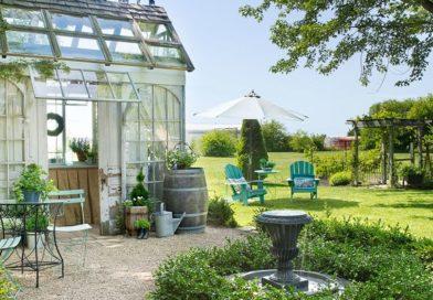 Как создать ландшафтный дизайн двора в частном доме своими руками