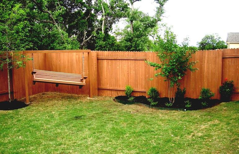 ландшафтном дизайне маленького двора