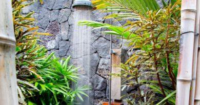 Летний душ на даче своими руками из подручных материалов